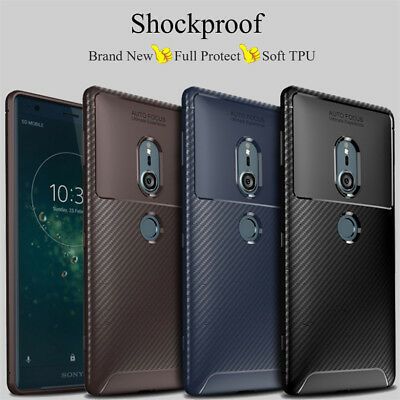 AU4.54 • Buy For Sony Xperia XA2 XZ2 XZ3 Compact Shockproof Silicone Hybrid Case TPU Cover