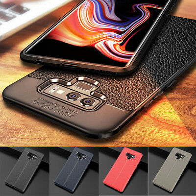 $ CDN5.35 • Buy For Samsung Galaxy Note 9 Slim Soft TPU Leather Case Shockproof Ultra Thin Cover