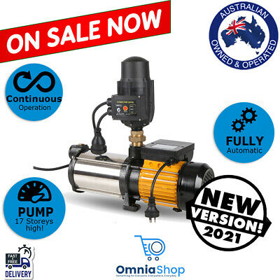 AU195.97 • Buy 2.8HP Multi Stage Water Pump High Pressure Household 2000W Home Garden Booster