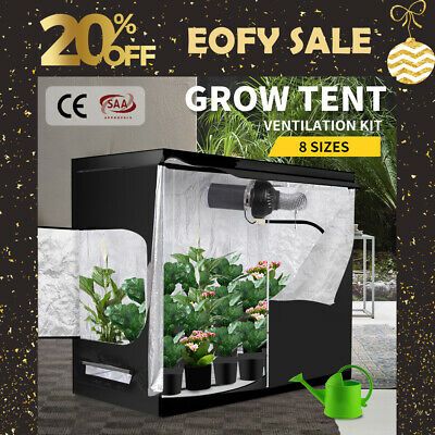 AU139.99 • Buy Grow Tent Hydroponics System Indoor Room Plant Reflective Aluminum Oxford Cloth