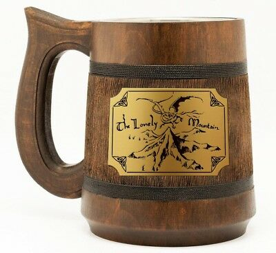 £27.26 • Buy The Lonely Mountain Mug Lord Of The Rings Thorin's Map Lotr Gifts The Hobbit