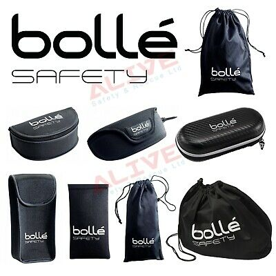 £7.29 • Buy Bolle Safety Glasses Spectacles Polyester Safe Storage Case Microfibre Pouch Bag