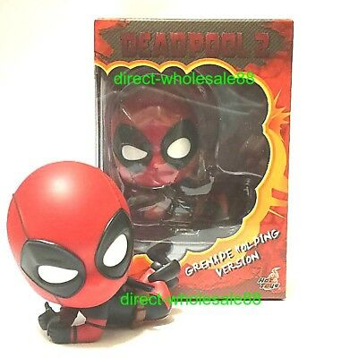 $ CDN25.11 • Buy Hot Toys Deadpool Grenade Holding Version Cosbaby  Marvel