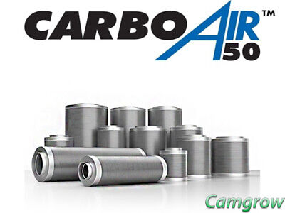 CarboAir 50 - Professional Carbon Filters Odour Control Grow Room Hydroponics • 148.95£