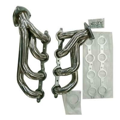 $102.99 • Buy STAINLESS STEEL EXHAUST HEADER+GASKET/BOLTS For CHEVY SILVERADO 1500 4.8L/5.3L