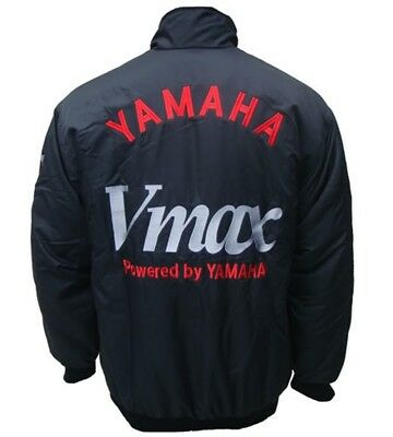 AU127.58 • Buy YAMAHA-Vmax-JACKET--RACING TEAM ALL LOGO IN BRODERY