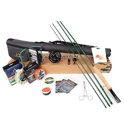 $ CDN213.36 • Buy Maxcatch Premier Fly Fishing Rod And Reel Combo Kit 3-8w 9ft Fishing Outfit Kits