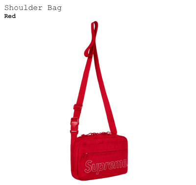 $ CDN228.82 • Buy Supreme Shoulder Bag Red NEW 100% Authentic SS18