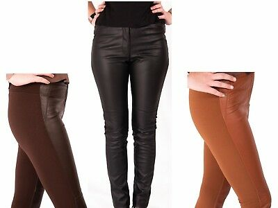 £4.95 • Buy Leather Look Leggings Trousers Ladies H&M Stretch Pants 6-10 New Skinny Fashion