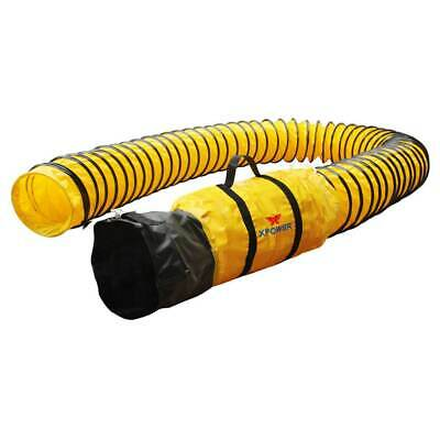 XPower 8DH15 8-Inch X 15-Foot Extra Flexible Ventilation PVC Duct Hose • 109$