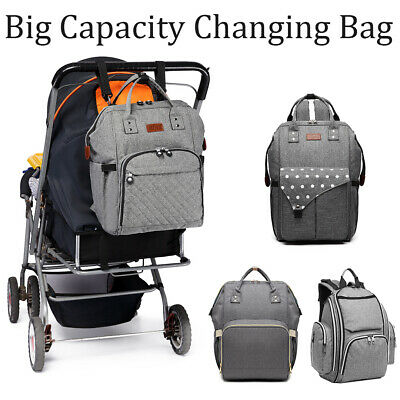 £14.99 • Buy KONO Multi-Function Tote Baby Mummy Diaper Nappy Backpack Changing Shoulder Bag