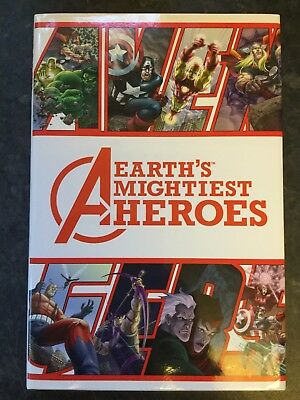 AVENGERS Earths Mightiest Heroes HC Graphic Novel 1st Print 2005 • 29.99£