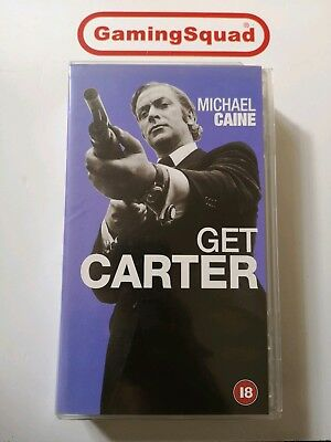 Get Carter VHS Video Retro, Supplied By Gaming Squad  • 5.25£