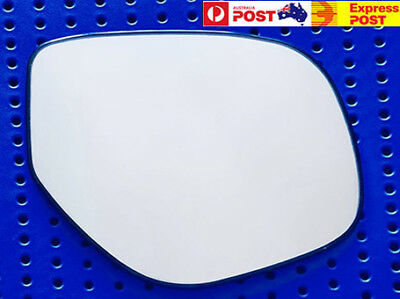AU30 • Buy Right Side Mirror Glass To Suit MITSUBISHI OUTLANDER ZJ ZK 11/2012-2018 W Base