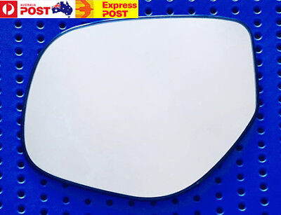 AU30 • Buy Left Side Mirror Glass To Suit MITSUBISHI OUTLANDER ZJ ZK 11/2012-2018 With Base