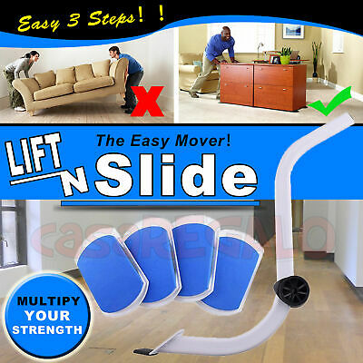 AU24.73 • Buy NEW Furniture Lifter Moves With EZ Mover Sliders Kit Home Moving Lifting System