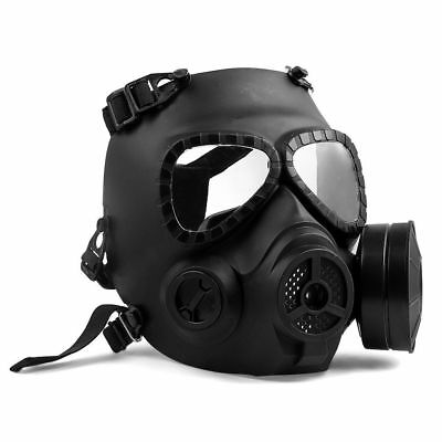 $46.55 • Buy Gas Mask Tactical Field Full Face Protection With Fan Halloween Cosplay Props