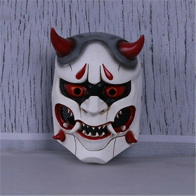 $ CDN33.08 • Buy Game OW Overwatch Genji Skin Oni Mask Halloween Party Fancy Mask Cosplay Props