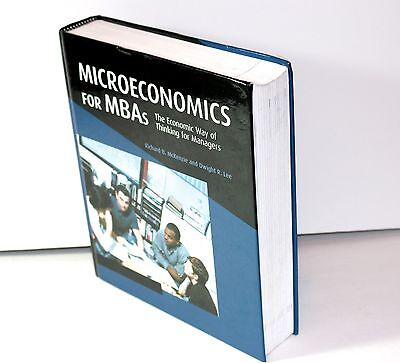 $ CDN39.48 • Buy CAMBRIDGE RICHARD B McKENZIE AND DWIGHT R. LEE MICROECONOMICS FOR MBA'S H.COVER