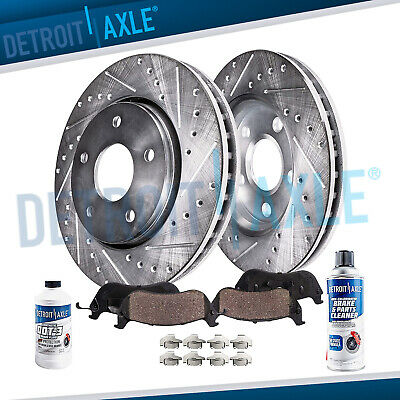 $71.25 • Buy For 2005-2012 Acura RL DRILLED SLOTTED REAR. Rotors And Ceramic Brake Pads Kit