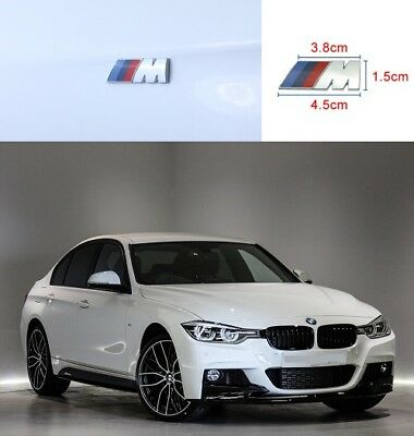 AU14.99 • Buy 2 X M Sport Wing Badge For BMW 1 2 3 4 5 6 X1 X2 X3 X4 X5 X6 M Sport Series 45mm