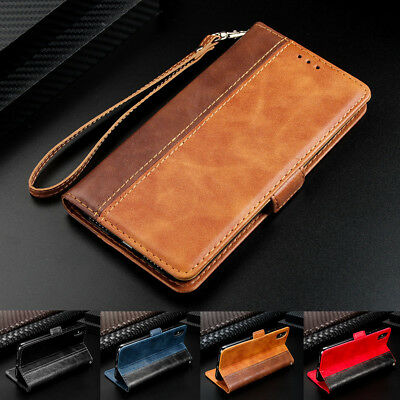 $ CDN6.17 • Buy For Samsung Galaxy S6 S7 Edge S8 S9 Plus Luxury Flip Leather Wallet Case Cover