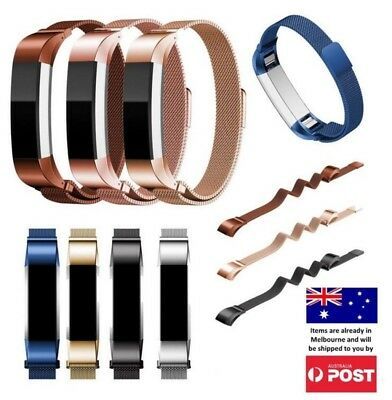AU10.95 • Buy New Luxe Milanese Stainless Steel Wrist Band Strap Fitbit Alta HR / Ace