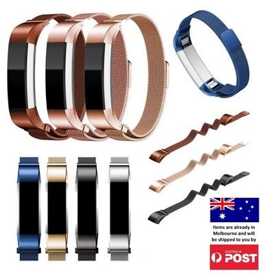 AU10.95 • Buy New Luxe Milanese Stainless Steel Wrist Band Strap For Fitbit Alta / Alta HR