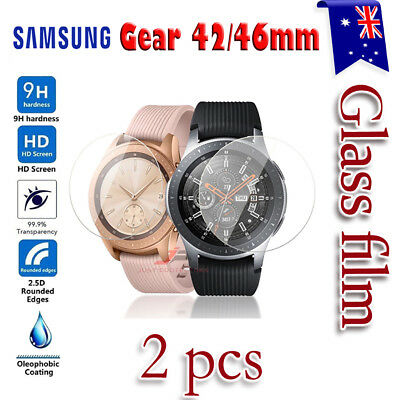 AU3.45 • Buy 2x Samsung Galaxy Gear Watch 46/42mm S2 S3 Tempered Glass Screen Protector
