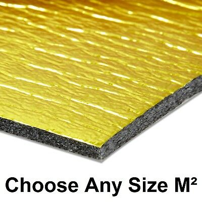 5mm Sonic Gold Underlay For Wood Or Laminate Flooring Acoustic & Heat Insulation • 17.50£