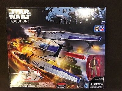 $ CDN41.67 • Buy Star Wars Rogue One U-Wing Fighter By Hasbro With Captain Cassian Andor