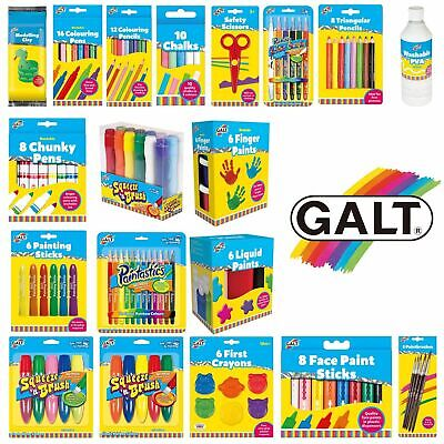 Galt Paintastics Crayons Chalk Colouring Pencils Markers Paints Scissors Glitter • 5.99£