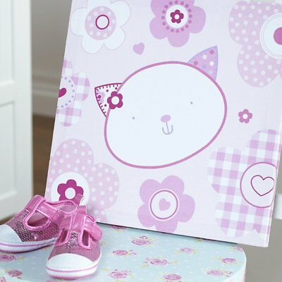 Baby Purfect Little Flowers Wall Canvas Nursery Decoration Accessories Gifts • 11.99£