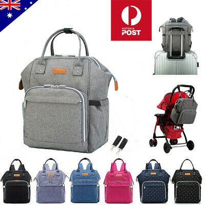 AU24.95 • Buy Multifunctional Large Baby Diaper Nappy Backpack Waterproof Mummy Changing Bag