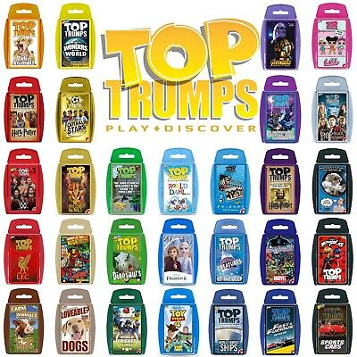 Top Trumps Card Games - Play And Discover - Largest Range - 120+ To Choose From! • 4.95£