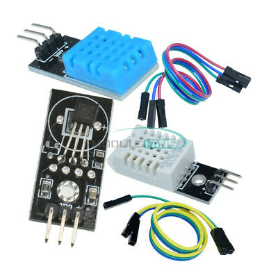 AU5.83 • Buy DHT22/AM2302 Temperature And Humidity Sensor DHT11 DS18B20 Temperature Module