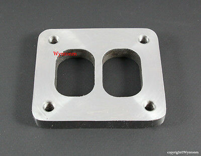 $221.80 • Buy T4 Turbo Inlet FLANGE TAPPED M10 X 1.25 Stainless Steel EFR Twin Scroll Manifold