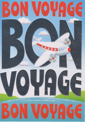 Bon Voyage Leaving Card  • 2.30£