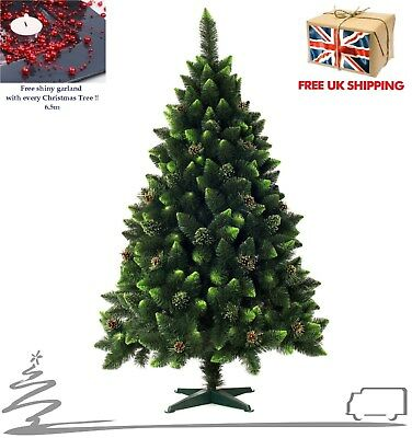 SALE !! Luxury Artificial Green Crystal Christmas Tree # 7ft / 220cm • 58£