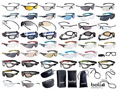 £8.96 • Buy Bolle Safety Glasses Spectacles BOLLE Eye Protection Accessories - Various Types