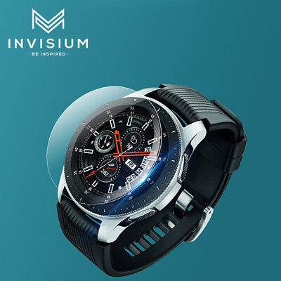 AU3.95 • Buy INVISIUM Tempered Glass Protector For Samsung Galaxy Smart Watch 42mm 46mm