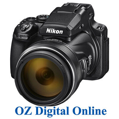 AU1119 • Buy NEW NIKON COOLPIX P1000 16MP 125x Optical Zoom F/2.8-8 WiFi 4K CAMERA 1 Yr AuWty