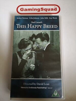 This Happy Breed VHS Video Retro, Supplied By Gaming Squad  • 2.49£