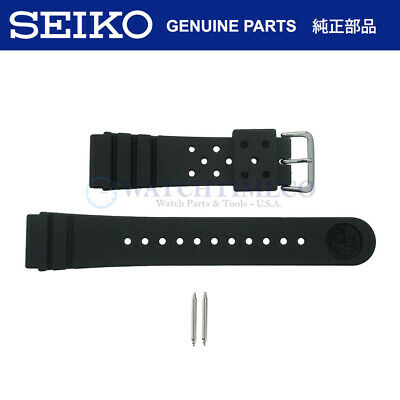 $ CDN24.52 • Buy Genuine Seiko 4F24ZZ 22mm Divers Watch Strap + Pins For SKX173 SKX007 SKX009