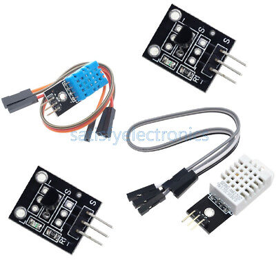 AU3.99 • Buy NEW DHT22/AM2302 DHT11 DS18B20 Digital Temperature And Humidity Sensor Module