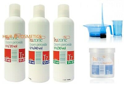 Truzone Cream Peroxide, Rapid Blue Powder Bleach - Hair Colouring-free Uk Post!! • 8.95£