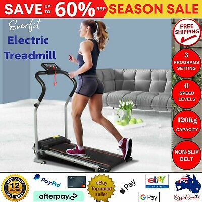 AU256.75 • Buy Motorised Treadmill Walking Fitness Home Exercise Machine Fold Away Warranty New