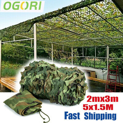 £22.99 • Buy Camouflage Netting Camo Net UK Hunting Shooting Camping Army Green Hide Cover