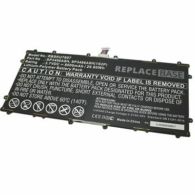 £20.40 • Buy Battery For Samsung Google Nexus 10 Tablet SP3496A8H 1S2P 8000mAh Replacement