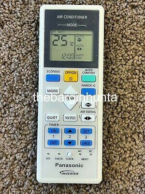 AU24.50 • Buy Panasonic Replacement Air Conditioner Remote Control A75C3826 NEW